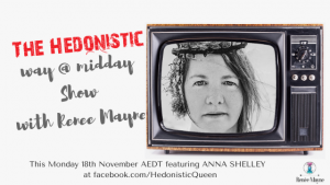 Anna Shelley on The Hedonistic Way @ Midday Show
